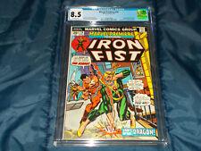 Marvel Premiere #16 CGC 8.5 VF+ (Marvel-07/74) 2nd Iron Fist! Origin continues!