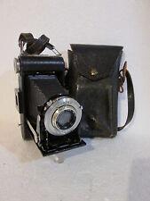 Vintage Kodak Junior Jr. Six-20 Series III Folding Camera w/ Case