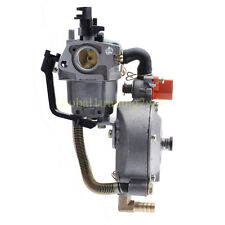 Dual Fuel Carburetor Carb Fit 170F Honda GX200 Water Pump Generator Engine Parts