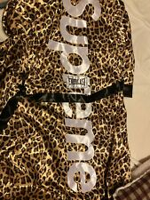 Supreme x Everlast Satin Boxing Robe Leopard sz Large