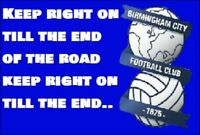 Birmingham City Keep right on till the end of the road. St Andrews Fridge Magnet
