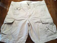 L.O.G.G./H&M Mens' Tan Cargo Shorts Sz 34 VGUC