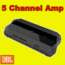 JBL CAR/VAN CLUB D AMP AMPLIFER 5 FOUR MULTI CHANNEL BUILT IN CROSSOVERS NEW