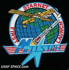 MILSTAR - FIRST LAUNCH - STARNET - TITAN IV 401A - TRW USAF SATELLITE PATCH