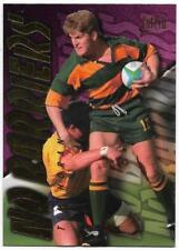 1996 Futera Rugby Union NO BARRIERS (NB4) Tim HORAN Sample