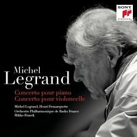MICHEL LEGRAND: CONCERTO POUR PIANO; CONCERTO POUR VIOLONCELLE USED - VERY GOOD