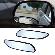 2pcs Car Blind Spot Mirrors Auto 360° Wide Angle Convex Rear Side View Truck SUV