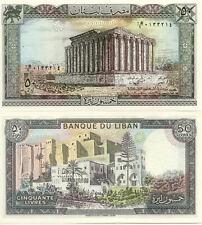 Billet banque LIBAN LEBANON 50 LIVRES NEUF UNC
