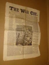 1883 Salvation Army War Cry Newspaper April 5