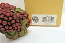 "1997 Harmony Kingdom Lord Byron's Harmony Garden ""Cranberry"" Lidded Figure"