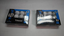Titleist Two 12 Pack Reload Recycled 24 Total Golf Practice Balls Lot