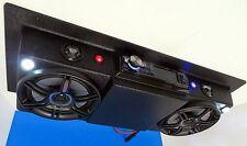 Golf Cart Radio Polaris EZGO Club Car Boat UTV Overhead Console Stereo Radio