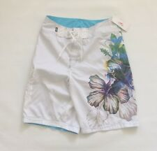 BNWT Speedo Men's Swim Trunks Surfing Sz 28 new White