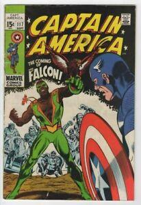 Captain America #117, original vintage comic book