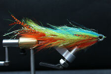 Blue Firetiger Big Game Changer Articulated Muskie, Pike, Big Bass fly