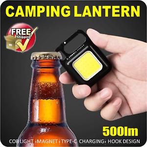 WORK LIGHT FLOOD LIGHT LED CAMPING EMERGENCY 4X4  500lm BOTTLE OPENER KEY CHAIN