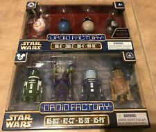 Star Wars Droid Factory 2 set LOT x 4 = 8 NEW Disney Park Clone Wars Last Jedi