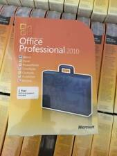 Microsoft Office Professional 2010,Full,Windows,32/64-b it W/Cd&Key New Sealed