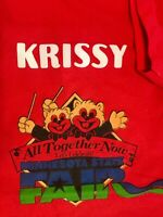 VINTAGE Minnesota State Fair KRISSY T-shirt LARGE Rare Collectible Memorabilia