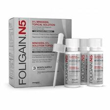 FOLIGAIN N5 5% Topical Solution Low Alcohol Formula 3 Months Supply