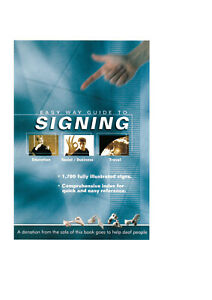 Pocket British Sign Language (BSL) Book