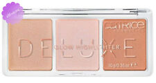 Catrice Cosmetics Deluxe Glow Highlighter Trio Palette Strobing
