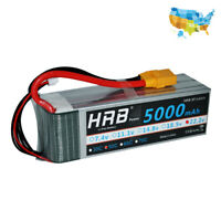 HRB 22.2V 5000mAh 6S RC LiPo Battery 50C 100C for ALIGN T-REX 550 Helicopter Car