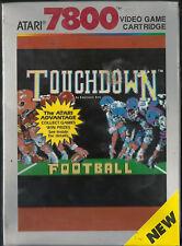 Touchdown Football Atari 7800 New Factory Sealed Rare Collectible NIB