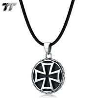 T/&T Stainless Steel Cross Pendant SILVER NEW CP58