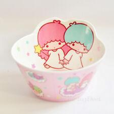 Cute Little Twin Stars Rice Soup Fruit Food Bowl Kitchen Die-Cut Melamine Bowl