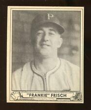 "1940 Play Ball ""FRANKIE"" FRISCH Baseball Card #167 Vg-Ex/Ex No Creases (JO226)"