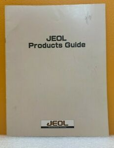 Jeol Products Guide (Catalog).