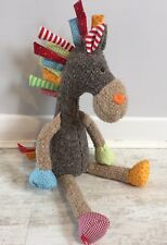 SIGIKID GERMANY Patchwork Sweety Horse 38371 Cuddle Plush Soft Toy