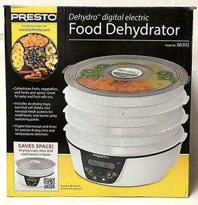 New Presto 06303 Dehydro Digital Electric Food Dehydrator