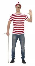 Where's Wally Adult Fancy Dress Costume Medium