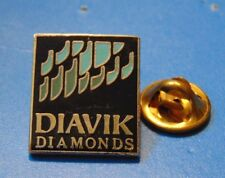 DIAVIL DIAMONDS MINE PIN LAPEL PINBACK Northwest Territories NWT Canada