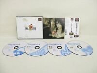 PS1 FINAL FANTASY VIII 8 with SPINE CARD * FF8 PS Playstation Game p1
