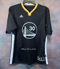 Authentic Stephen Curry Golden state sleeve Warriors jersey Sz M