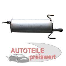 Endschalldämpfer OPEL ASTRA F + Cabrio + CC Auspuff Neu