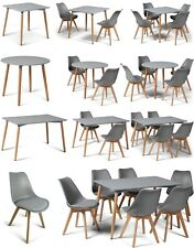 Toulouse Eiffel Style Grey Dining Sets Designer Tables & Dining Chairs Art Deco