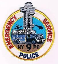 NUEVA YORK POLICE EMERGENCY SERVICE TRUCK SQUAD 9 POLICIA