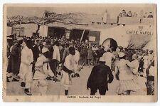 CARTOLINA 1913 DERNA FANTASIE DEI NEGRI RIF. 10007
