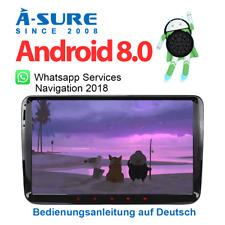 Android 8.0 GPS DAB+ Autoradio Navi für VW Passat Golf Tiguan Touran Polo T5 OPS
