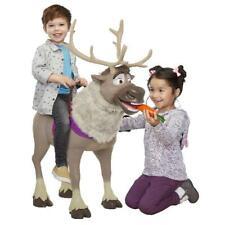 New Disney Frozen 2 Sven Kid Child Size Sit On Ride Interactive Carrot Sound Toy
