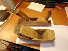 pair vintage woodworking planes- goldeneers & Ohio with blades