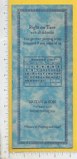8921 Britan & Son printer 1927 calendar blotter 1143 Shelby St, Indianapolis, IN
