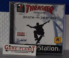 Thrasher - Skate and Destroy OVP Sony Playstation 1 P1 PSX Pone NEU NEW in Folie