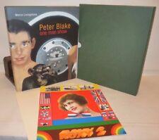 ARTE - Livingstone, M.: PETER BLAKE One Man Show 2009 + ORIGINAL SCREEN PRINT