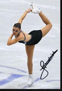 HENDRICKX Loena - BEL - Figure Skating - Photo signed