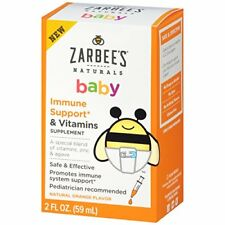 Zarbee's Naturals Baby Vitamins Supplement 2 Ounce  (Pre-order)